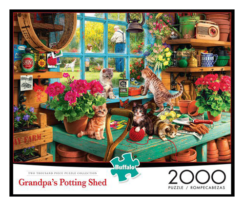 Grandpa's Potting Shed puzzle