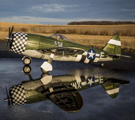 E-flite P-47D Thunderbolt